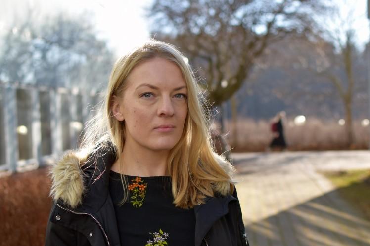 Emma Eriksson Maggi, gästdoktorand vid Sociologiska institutionen. Foto: Leila Zoubir/Stockholms universitet
