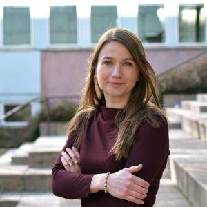 Mikaela Sundberg. Foto: Leila Zoubir/Stockholms universitet