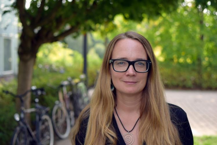 Andrea Voyer. Photo: Leila Zoubir/Stockholm University