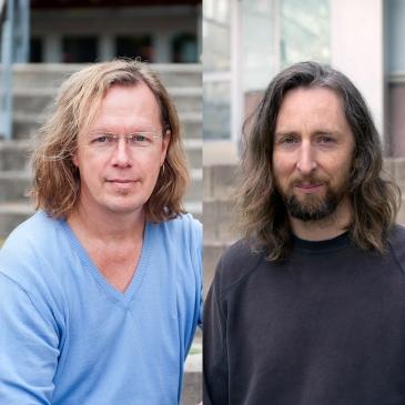 Gunnar Andersson, Ben Wilson. Photo: Eva Dalin/Stockholms universitet, Leila Zoubir/Stockholms universitet.