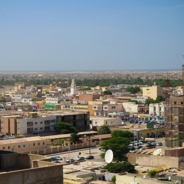 Aerial cityscape view to Nouakchott, capital of Mauritania. Photo: Mostphotos