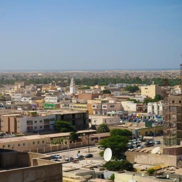 Aerial cityscape view to Nouakchott, capital of Mauritania. Photo: Mostphotos