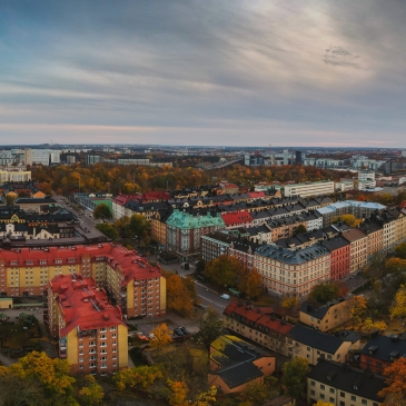 Aerial panorama of Stockholm, Sweden. Photo: Mostphotos
